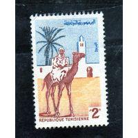 Тунис. Верблюд. Почта.