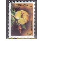 Танзания 1994 Цветы флора