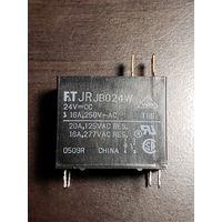 Реле Fujitsu Jr JB024W-24VDC, 20A, 125VAC, 16A, 277VAC