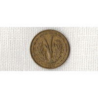 Того 25 франков 1957 /фауна/ (МР)