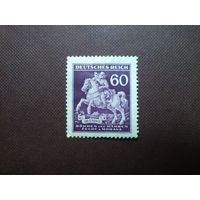 Германия 1943 г. Богемия и Моравия.День почтовой марки.