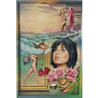"""Картина """"Маша и золотая рыбка"""""""