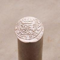 Тернарий 1627 (двухпольный герб) Сигизмунд III Ваза М.Д. Лобженица R4 СОСТОЯНИЕ