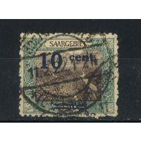Германия Саар Оккупации 1921 Надп