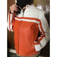 Куртка натур Кожа 46-48 Мотоледи очень красивая