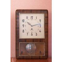 С рубля, настенные часы Янтарь