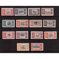 Боливия-1951(Мих.478-491) **, Спорт, футбол