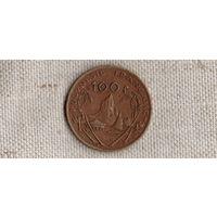 Французская Полинезия 100 франков 1982 корабль/(Va)