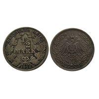 1/2 марки 1918 а