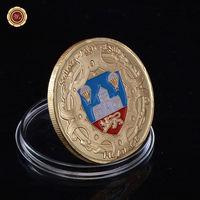"""Декоративная монета - медаль Франция """"Sainte-mere-Eglise"""".  распродажа"""