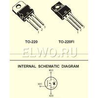Транзисторы IRF630 демонтаж