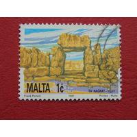 Мальта 1991г.  Флора.