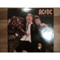 AC/DC - If You Want Blood  UK 1 st