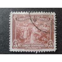 Колумбия 1939 уборка кофе