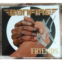 "Bonfire - ""Friends"" (2003, CD макси-сингл, Germany) / с автографом Hans Ziller"
