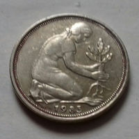 50 пфеннигов, Германия 1983 F
