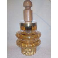 Люстра светильник с красивым янтарным плафоном для кухни прихожей