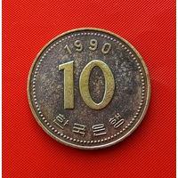 22-08 Южная Корея, 10 вон 1990 г.