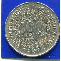 Западная Африка 100 франков 1972