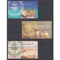 Выдающиеся люди. Кирибати. 2006. Полная серия. 2 листа сканов. Michel N 997-1008 (17,0 е)..
