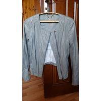 Натуральная кожаная куртка Esprit