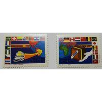 Бразилия, история почты, флаги, карта