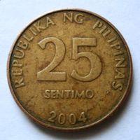 25 сентимо 2004 Филиппины