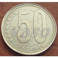 4972:  50 сентимо 2007 Венесуэла