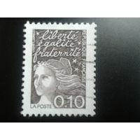 Франция 1997 стандарт 0,10