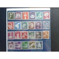Берлин 1975-1982 Стандарт Индустрия и техника Михель-48,0 евро полная серия 23 марки