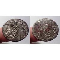 Царство Элимаида, царь Камнаскир V-VI и Ород I в соправительстве, конец I века до н.э. - I век н.э., тетрадрахма. 30 мм.