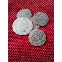 Лот монет Речь Паспалитая!!! Серебро!