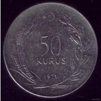 50 куруш 1971 год Турция
