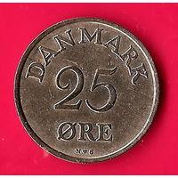 49-35 Дания, 25 эре 1954 г.
