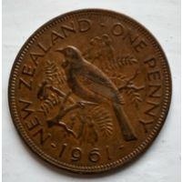 Новая Зеландия 1 пенни, 1961  2-7-11