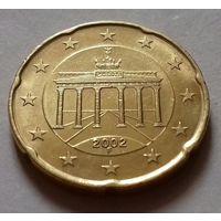 20 евроцентов, Германия 2002 F