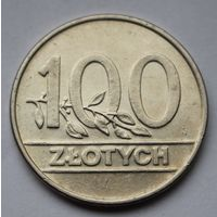 Польша, 100 злотых 1990 г.