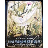 Под одной крышей. Р. Баумвольд. Издательство Детская литература, 1966 год.