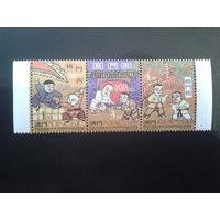 Китай 1997 Макао, колония Португалии виды борьбы (кун-фу, дзю-до, каратэ)