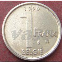 5940:  1 франк 1995 Бельгия