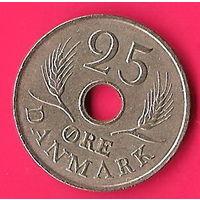 47-38 Дания, 25 эре 1967 г.
