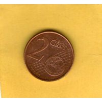 Кипр 2 цента 2008