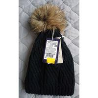 20р СЕЙЧАС! Новая классная шапка 56-57