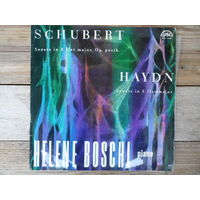 Helene Boschi (ф-но) - Ф. Шуберт, Й. Гайдн. Сонаты для ф-но - Supraphon, 1965 г.