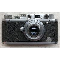 Фотоаппарат Зоркий 1952 г. с объективом Индустар-22 полностью исправный