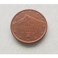 5 евроцентов 2009 Словакия