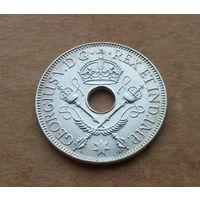 Британская территория Новая Гвинея, шиллинг 1936 г., серебро, Георг V (1910-1936)