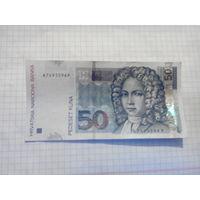 Хорватия 50куна 2002г.