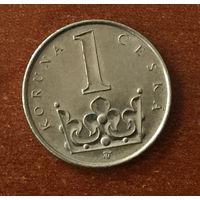 Чехия, 1 крона 2001