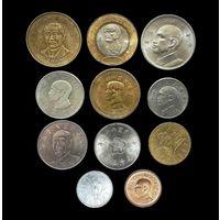 РЕДКИЕ 50 долларов 2002 г. И ДР. МОНЕТЫ ТАЙВАНЯ 11 шт.